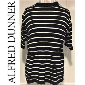Alfred Dunner short sleeve sweater Large
